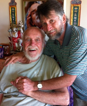 Ram Dass with Phil